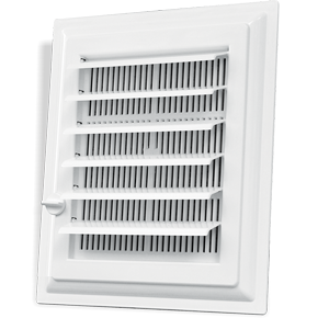 PLASTIC BATHROOM-WC VENTILATION VENT